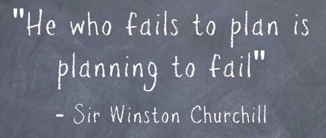 failing to plan is planning to fail winston churchill