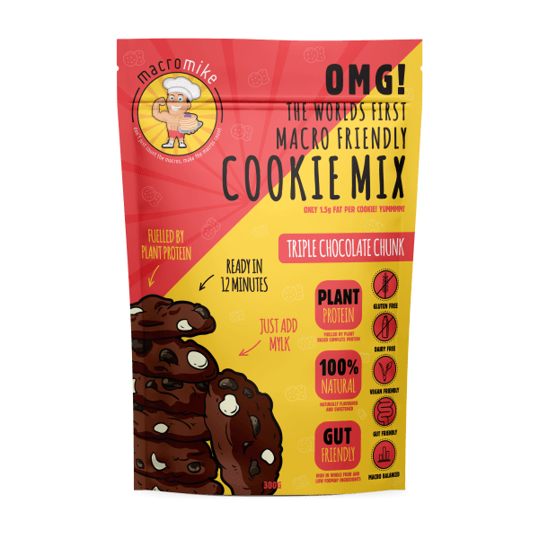 macro mike triple choc cookie mix