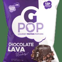 gpop protein popcorn chocolate lava cake