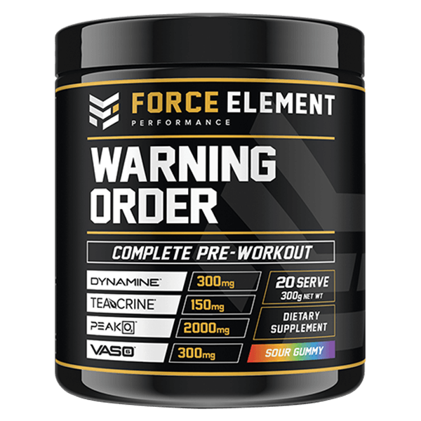 force element performance warning order sour gummy