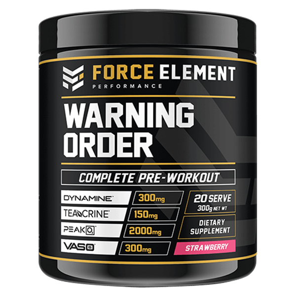 force element performance warning order strawberry
