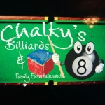 Findlay Chalky's Pool League