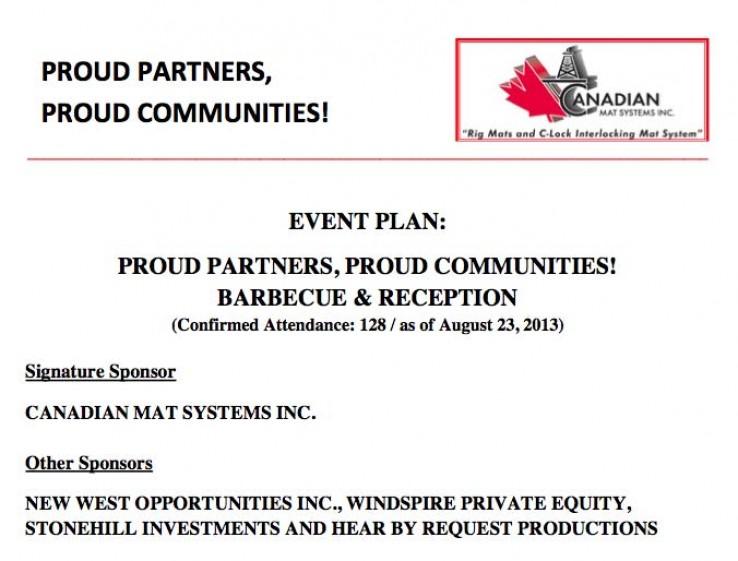 August 28, 2013 Proud Partners