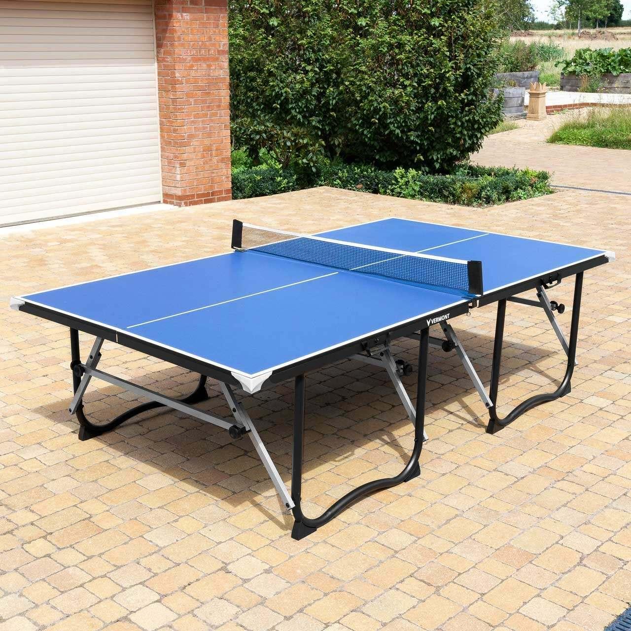 vermont table pliable pour tennis de table