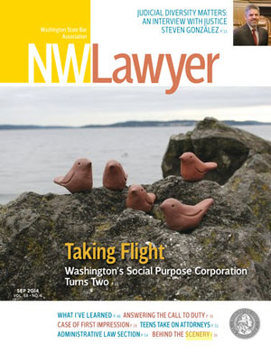 September 2014 NWLawyer