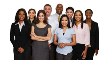 A group of diverse attorneys