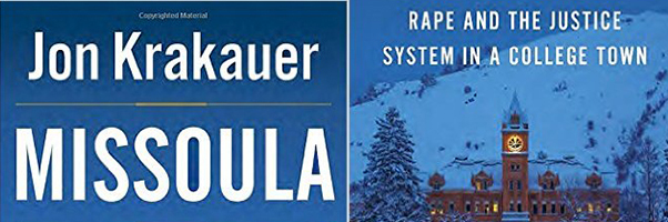 Krakauer's MISSOULA book cover