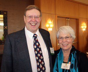 50-year member Donald Ferrell and guest Carolyn Ferrell.