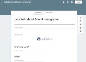 SoundImmigration screenshot