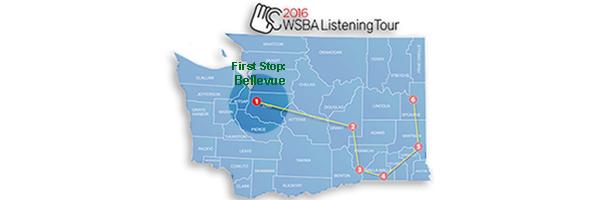Listening Tour map
