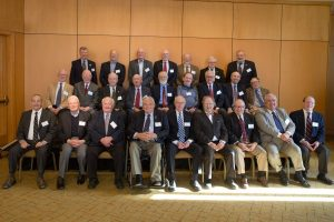 The Class of 1966 gathers for a 50-year member photo.