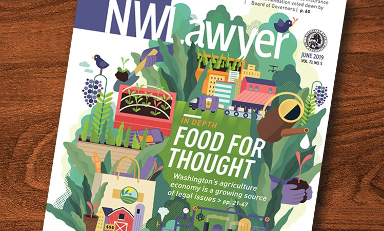 Cover of June NWLawyer