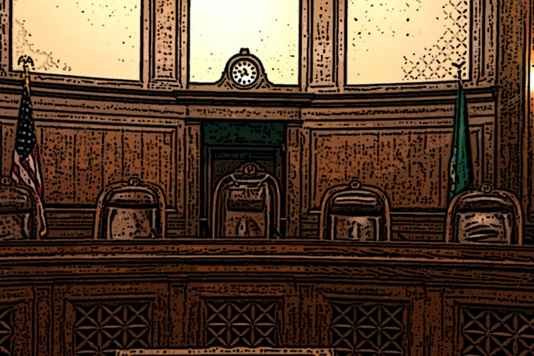 Inside the Temple of Justice