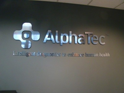 Alpha Tech Dimensional Sign