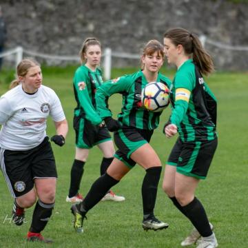 Katie Midwinter of Bethesda is the 2018-19 Grassroots North Wales Women's Footballer of the Season
