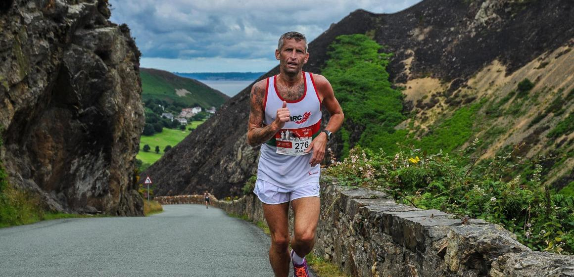 Double track success for North Wales Road Runners Club's Martin Green