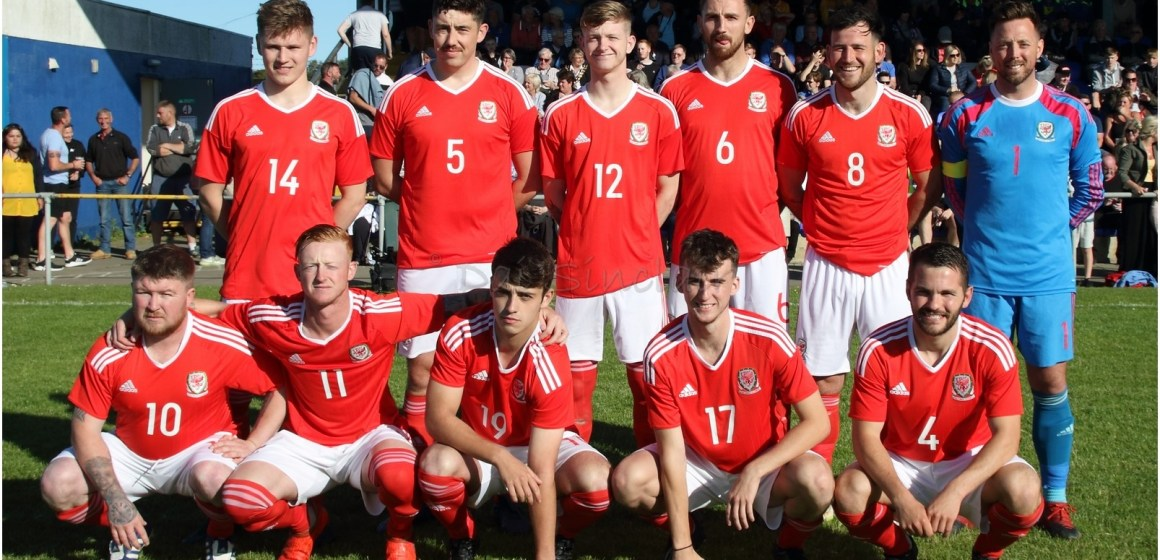 gold medal performance from Anglesey's football men was written in the stars