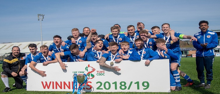 Home advantage in FAW Trophy for Bangor 1876