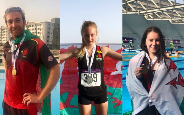 Two golds and a silver for Ynys Môn on a fantastic fifth day at the island games