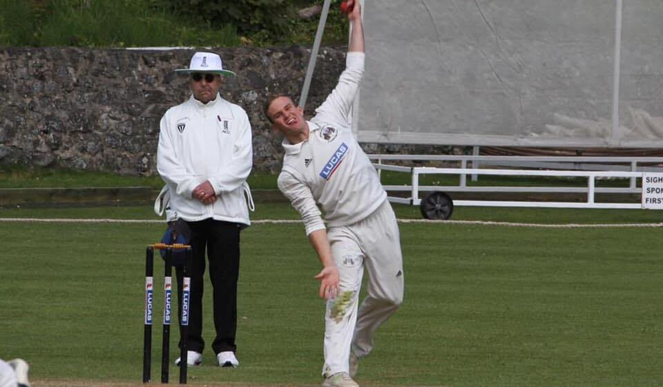 Cricket: Bangor regain top spot in North Wales Premier by a point after thrashing saints
