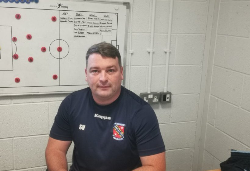 Stephen Vaughan Jr is Bangor City's new manager