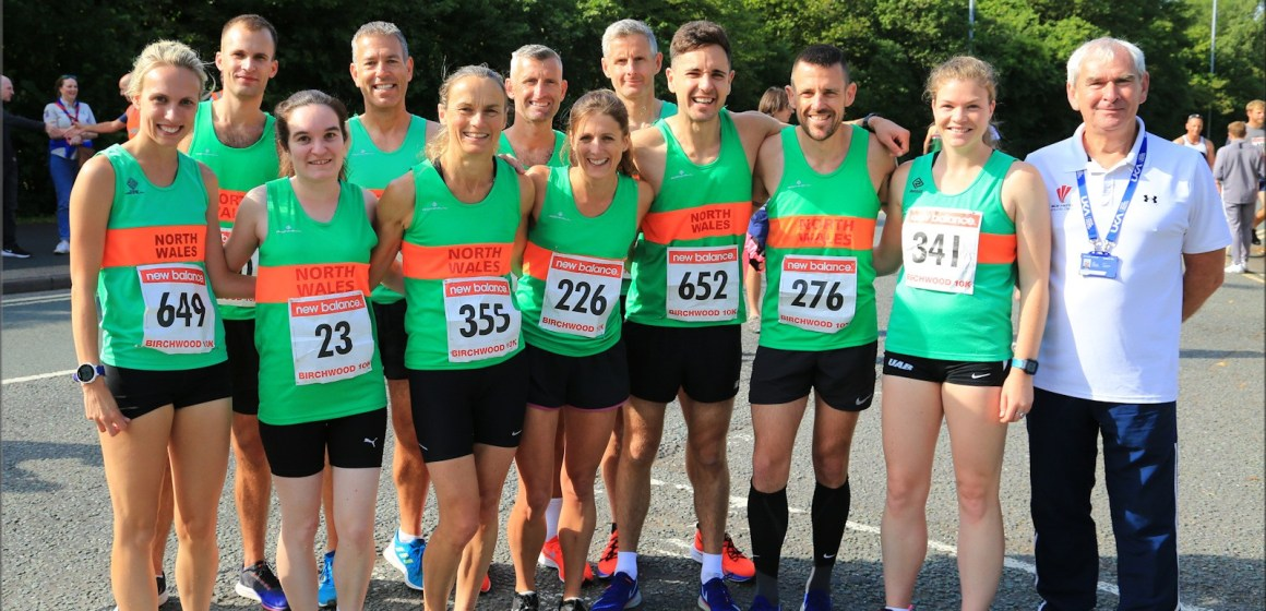 Close call for North Wales runners in Inter-Counties match