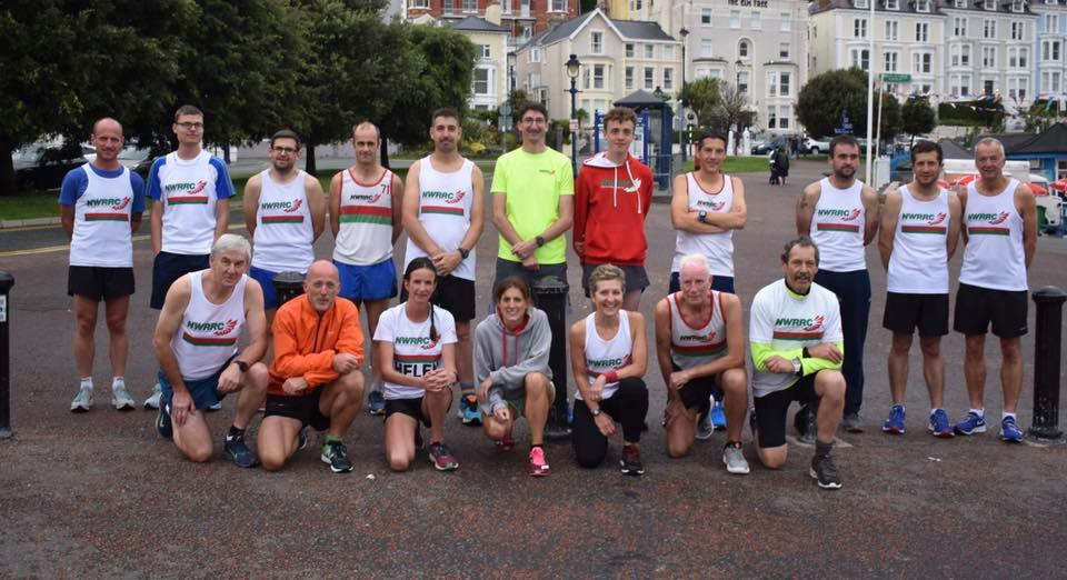 Summer relay on the prom for North Wales Road Runners