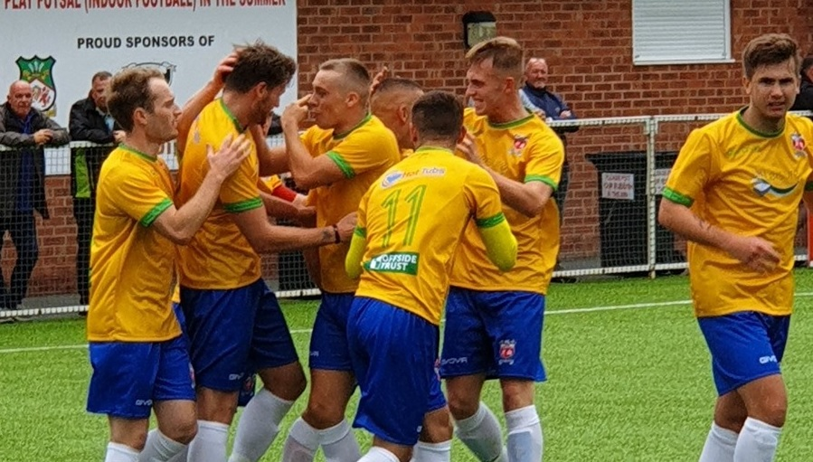 Nathaniel MG Cup: Prestatyn Town upset the odds with win at Druids