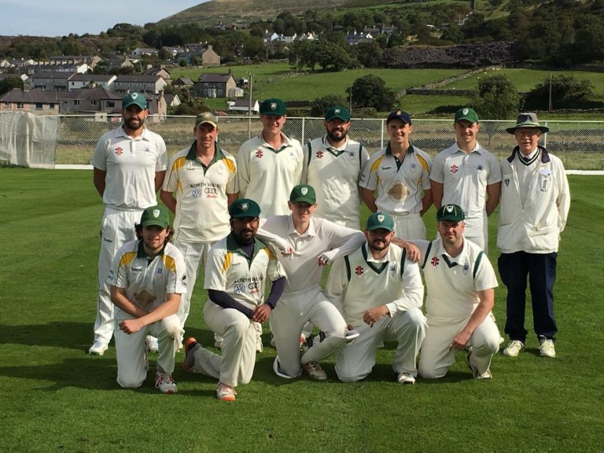 North Wales Cricket League: Conwy and Caernarfon celebrate great seasons