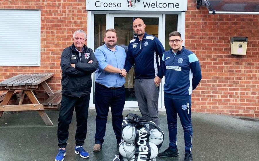 Penycae Football Club announce exciting new partnership with Cefn Druids
