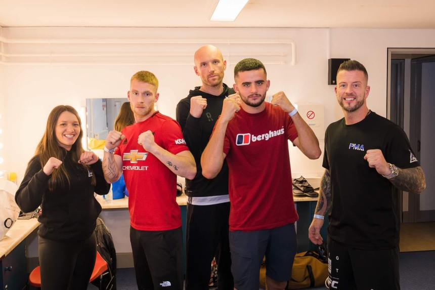 MMA: Rise of the Welsh Warriors show in Criccieth was a tremendous success