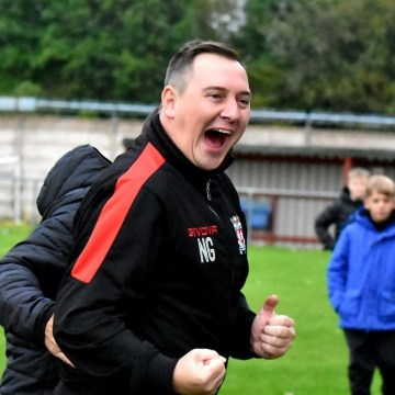Prestatyn Town's iconic manager Neil Gibson reaches a landmark birthday