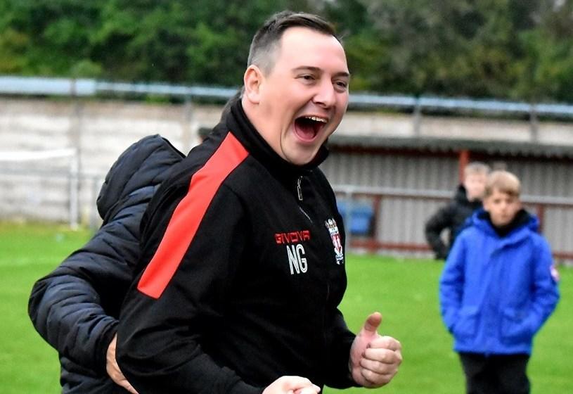 Prestatyn Town's iconic manager Neil Gibson reaches a landmark birthday
