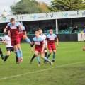 Cymru North: Lilywhites rue missed chances as Bay triumph 3-0 at Rhyl