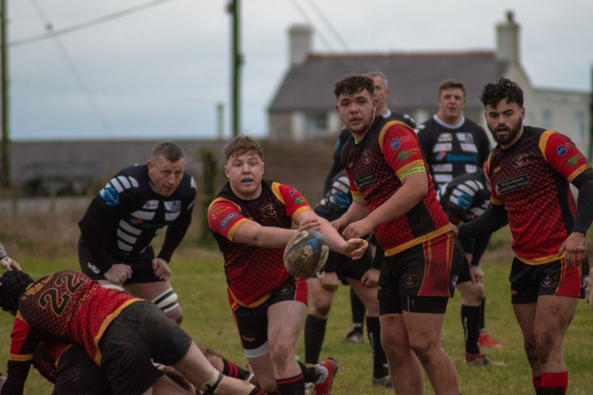 Holyhead and Dinbych 2nds fly flag for North Wales in national rugby union competitions