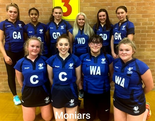 Netball: Gwynedd and Anglesey Division Two – Moniars win tight battle