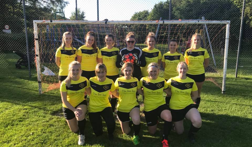 Women's recreational football: Bethesda stung by Bees before fighting back for draw