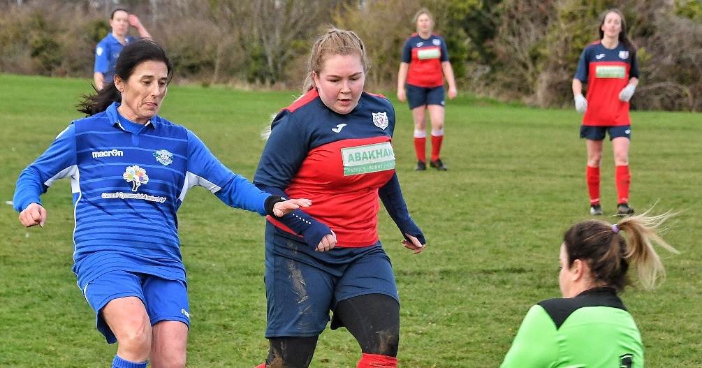Goals for Girls: Hat-tricks for Awel, Meinir, Catrin and Stacey boost their chart positions