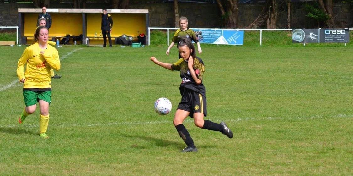 Female Football Focus: Elin Arwen (Clwb Pel  Droed Llanberis)
