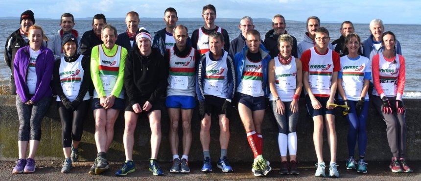 Festive spirit at North Wales Road Runners Christmas handicap race