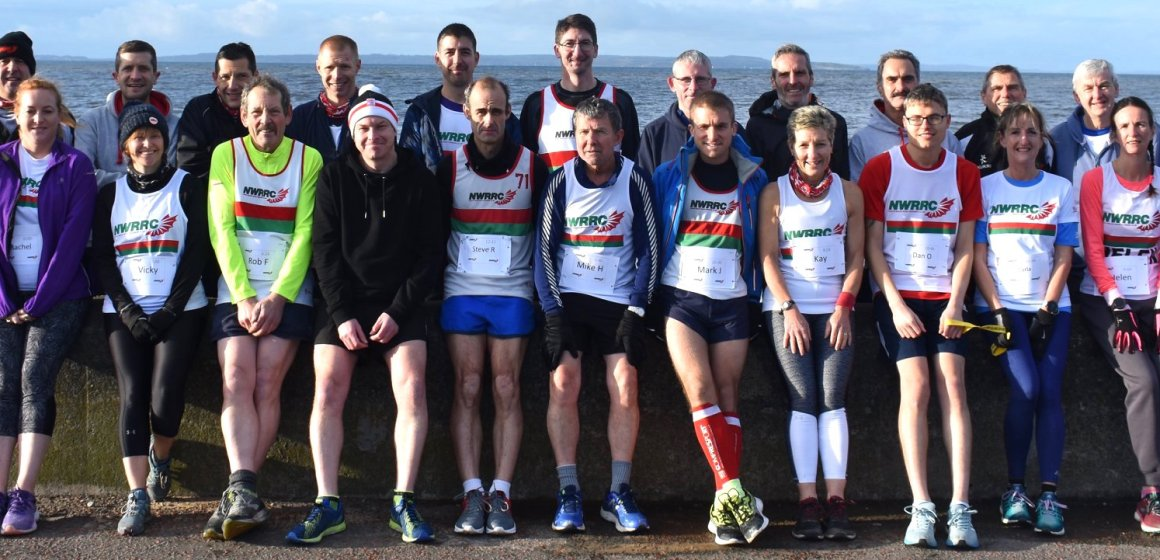 Festive spirit at North Wales Road Runners Christmas handicap race