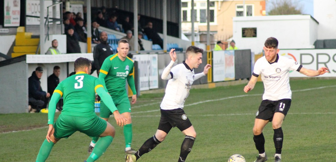 Welsh Cup: Rhyl advance to last 16 after win over South Wales side who finish up with eight men