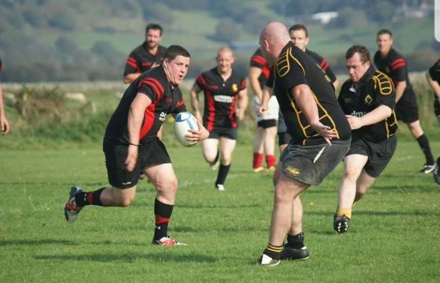 Rugby Union: Ben at the double but Port are well beaten by Cofis