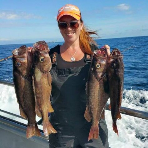 Kari-Lynn Smith chases quite a range of freshwater and saltwater species. (KARI-LYNN SMITH)