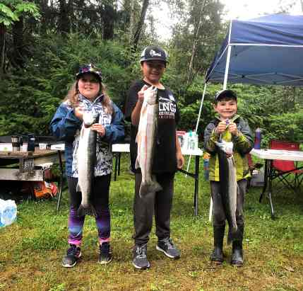 Catch And Fun Both Up At Kids Steelhead Days II On The Sky