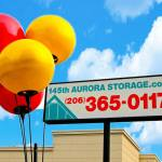 145th Aurora Storage Sign