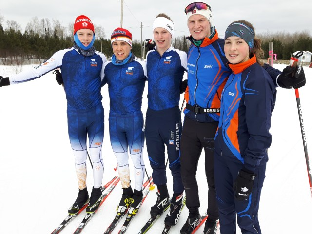 NT skiers at Canadian Nationals