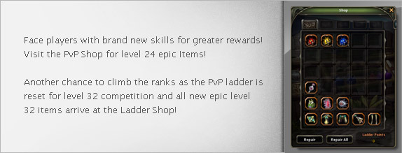 Are you prepared for a whole new level of PvP challenge?