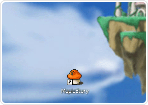 Go to MapleStory website