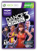Dance Central 3 box